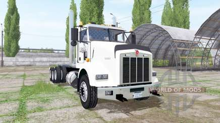 Kenworth T800 8x4 hooklift pour Farming Simulator 2017