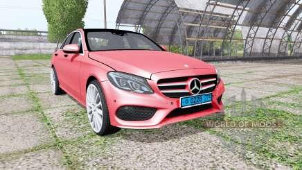 Mercedes-Benz C 250 AMG (W205) v1.1 pour Farming Simulator 2017
