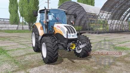 Steyr Multi 4115 front loader pour Farming Simulator 2017