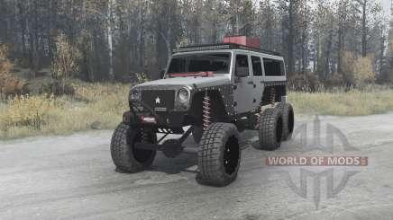 Jeep Wrangler Unlimited 6x6 (JK) crawler pour MudRunner