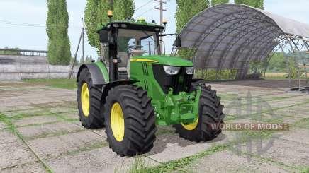 John Deere 6215R v2.3 pour Farming Simulator 2017