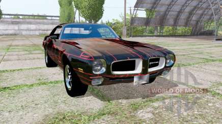 Pontiac Firebird 1970 Cyber Red für Farming Simulator 2017