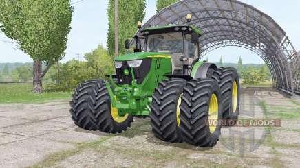 John Deere 6175R v3.0 für Farming Simulator 2017