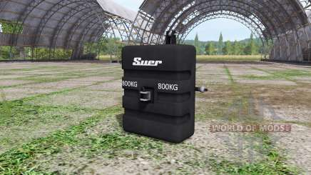 Weight Suer für Farming Simulator 2017
