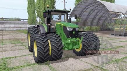 John Deere 6155R v2.9 für Farming Simulator 2017