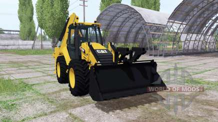 Caterpillar 420F für Farming Simulator 2017