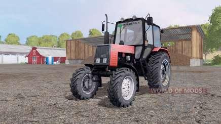 MTZ 892 Biélorussie pour Farming Simulator 2015