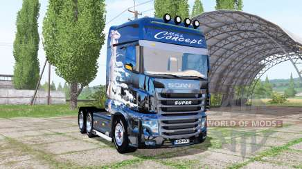 Scania R700 Evo Milch Concept pour Farming Simulator 2017