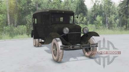 GAZ 55 1938 Sanitaires pour Spin Tires