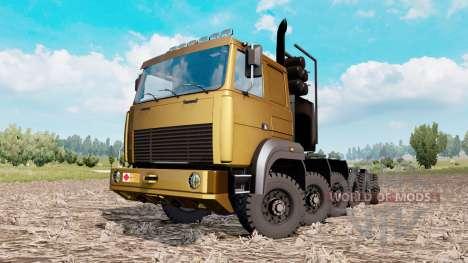 MAZ prototype 12x12 pour Euro Truck Simulator 2