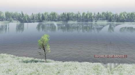Le Lac Baïkal pour Spin Tires