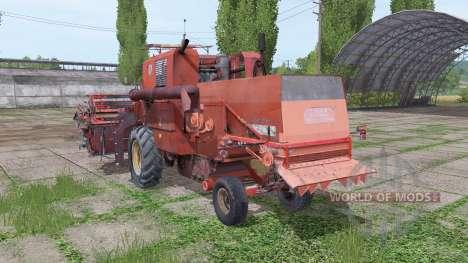 Bizon Z056 pour Farming Simulator 2017