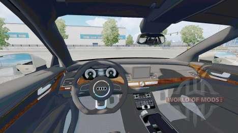 Audi A7 Sportback 2018 für Euro Truck Simulator 2