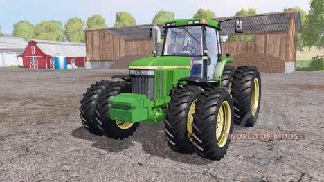 John Deere 7810 v1.1 by Julian11 pour Farming Simulator 2015