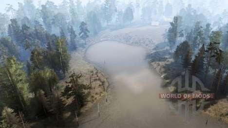 Rivière de montagne pour Spintires MudRunner