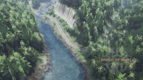 Fluss Tulika für Spin Tires