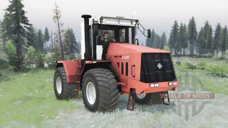 Kirovets K 744R3 pour Spin Tires