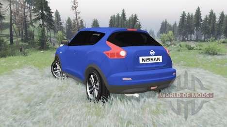 Nissan Juke (YF15) 2011 pour Spin Tires