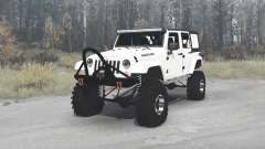 Jeep Wrangler Unlimited Rubicon (JK) crawler pour MudRunner
