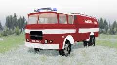 Skoda-LIAZ 706 RT 1957 feuerwehr für Spin Tires