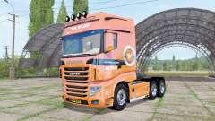 Scania R700 Evo V.D.Vlist pour Farming Simulator 2017
