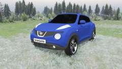 Nissan Juke (YF15) 2011 für Spin Tires
