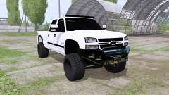 Chevrolet Silverado 2500 HD Crew Cab 2006 pour Farming Simulator 2017