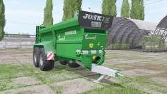 JOSKIN Tornado3 edit Stevie pour Farming Simulator 2017