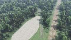 Quelque part dans les forêts de Tula pour Spin Tires