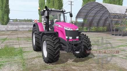 Massey Ferguson 8735 pour Farming Simulator 2017
