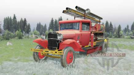 GAZ AA PMG-1 1932 pour Spin Tires