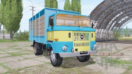 IFA W50 L cattle transport pour Farming Simulator 2017