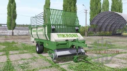 Krone Turbo 2500 pour Farming Simulator 2017
