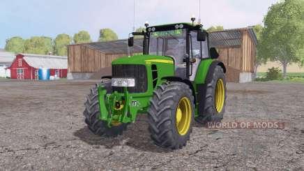 John Deere 6830 Premium v1.7 pour Farming Simulator 2015