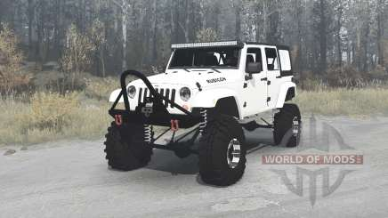 Jeep Wrangler Unlimited Rubicon (JK) crawler für MudRunner