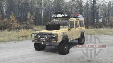 Land Rover Defender 110 Station Wagon pour MudRunner