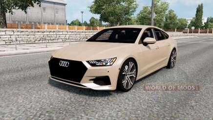 Audi A7 Sportback 2018 pour Euro Truck Simulator 2