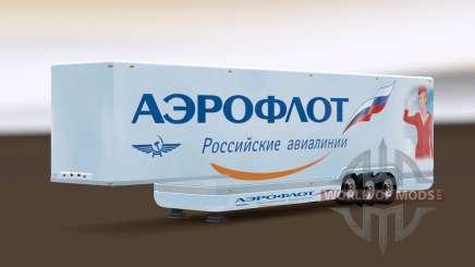 AeroDynamic Airlines Trailer pour Euro Truck Simulator 2