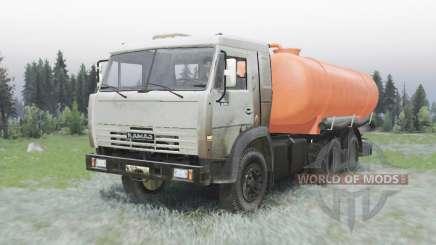 KAMAZ-53215 DIE 505A für Spin Tires