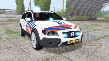 Volvo XC70 Politie für Farming Simulator 2017