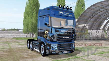 Scania R700 Evo Virtual Agriculture pour Farming Simulator 2017