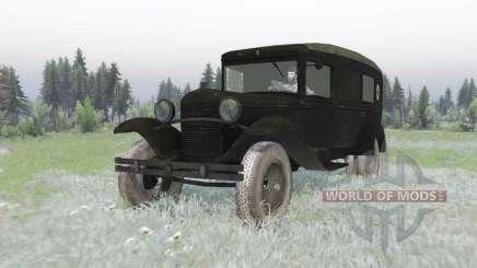 GAZ 55 1938 Sanitaires v1.2 pour Spin Tires