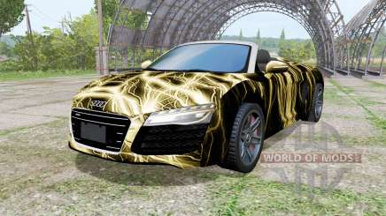 Audi R8 V10 Spyder 2012 Electric für Farming Simulator 2017