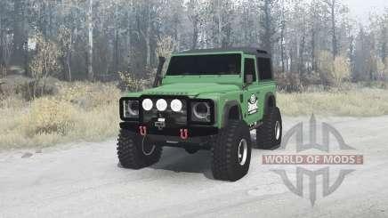 Land Rover Defender 90 pour MudRunner