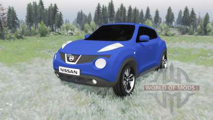Nissan Juke (YF15) 2011 pour Spin Tires