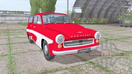 Wartburg 311-5 camping 1956 pour Farming Simulator 2017
