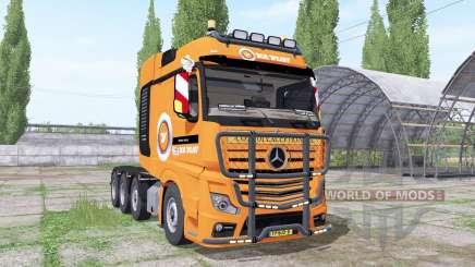 Mercedes-Benz Actros SLT (MP4) 2013 V.D.Vlist für Farming Simulator 2017