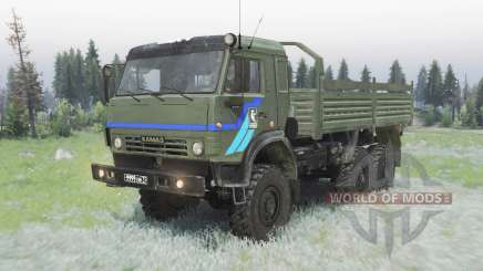 KamAZ 5350 Mustang pour Spin Tires
