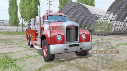 Mack B61 Fire Rescue pour Farming Simulator 2017