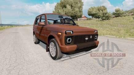 LADA Niva Urbain (21214) 2015 pour Euro Truck Simulator 2